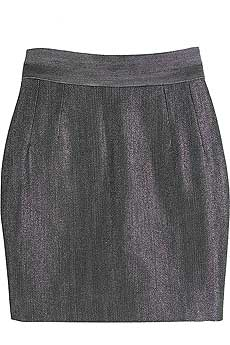 DandG DOLCEandGABBANA Metallic mini skirt product image