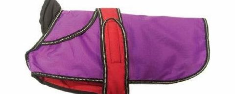 Danish Design Pet Products Danish Design - 2 in 1 Purple Dog Coat - 50cm (20``)