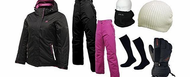 Dare 2b Dare2b Black Run Ladies Ski Wear Package,Includes all Ski Clothing amp; Accessories product image