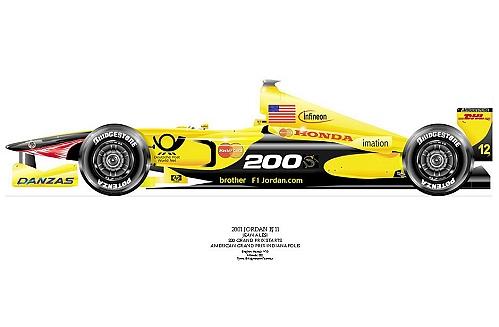 EJ11 Jean Alesi signed by