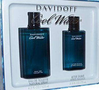 Davidoff Cool Water Set for Men 125 ml EDT 75 ml Aftershave