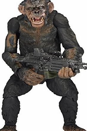 Dawn Of The Planet Of The Apes  29035 7-Inch ``Series 2 Koba With Machine Gun`` Figure