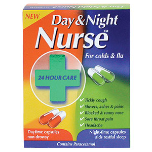 + Night Nurse Capsules - CLICK FOR MORE INFORMATION