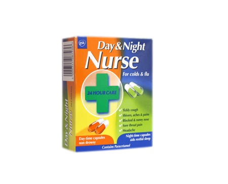 and Night Nurse Capsules 24 - CLICK FOR MORE INFORMATION