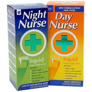 and Night Nurse Liquid - Size: 240ml- 160ml - CLICK FOR MORE INFORMATION