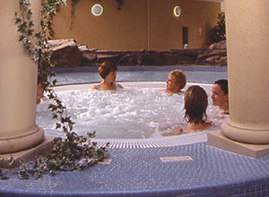 at a health spa - CLICK FOR MORE INFORMATION