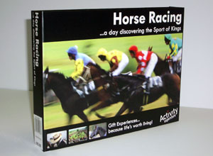 discovering horse racing (for one) - CLICK FOR MORE INFORMATION