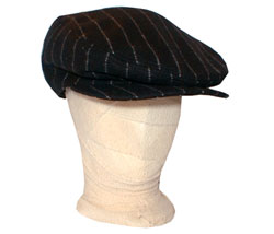 Pinstripe flat cap - CLICK FOR MORE INFORMATION