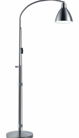 silver floor lamps reviews With daylight flexi vision floor lamp silver u31067