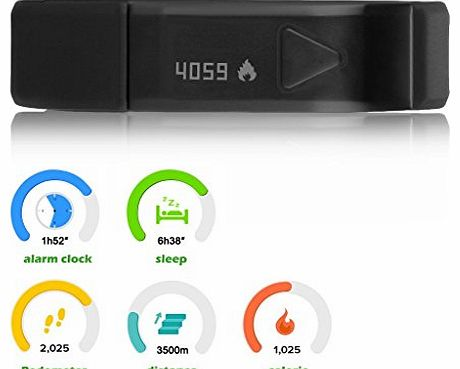 DBPOWER IP67 Bluetooth V4.0 Wristband Smart Bluetooth Bracelet Sport Watch For IOS & Android Iphone 4S Iphone 5 5S Ipod Touch 5 Samsung S5 S4 Note3 Note2 Android Smart Phone product image