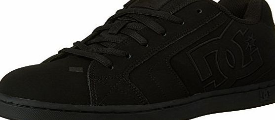 DC Net, Mens Skateboarding Shoes, Black, Black, 9 UK
