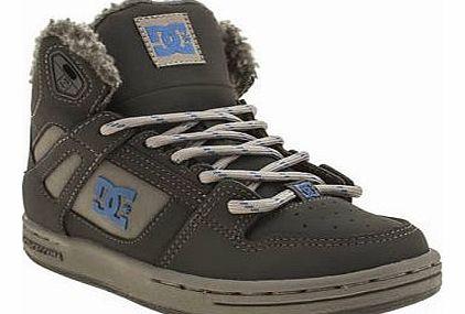 Dc Shoes kids dc shoes grey rebound boys junior