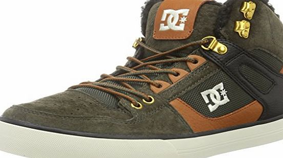 DC Universe Spartan Wc Wnt, Mens Low-Top Sneakers, Green - Grün (Military - MIL), 9 UK (43 EU)