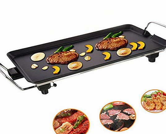 Dearbuy Electric Teppanyaki Barbecue Table Grill Griddle BBQ Table Top Party Camping Festival Cook
