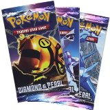 Deckboosters Pokemon - Diamond and Pearl Booster Packs (3 Packs) product image