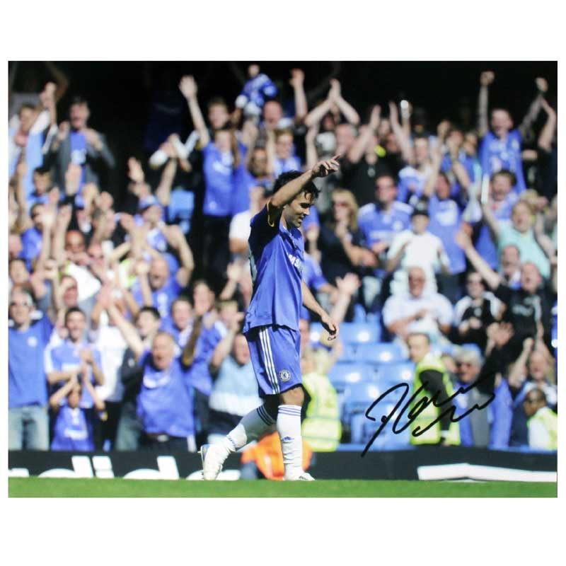 Signed Photo - First Goal For Chelsea