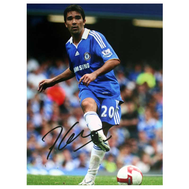 Signed Photo - In Action For Chelsea