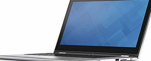 Dell Inspiron 13 7000 Series 13.3-inch 2-in-1 Touchscreen Laptop (Intel Core i3-6100U 2.3 GHz, 4 GB RAM, 500 GB HDD, Integrated Graphics, Windows 10) - Silver