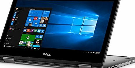 Dell Insprion 13 5000 Series Convertible 13.3`` Touchscreen Laptop (Intel Core i7, 16GB RAM, 256GB SSD, HD TrueLife) - Silver