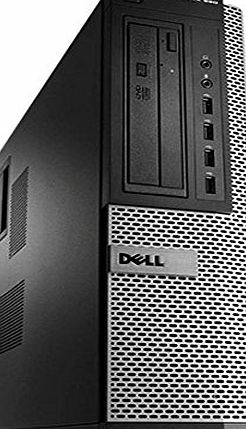 Dell OptiPlex 990 DT Desktop PC (Black/Silver) - (Intel Quad Core i5-2400 3.10 GHz, 8 GB RAM, 1 TB HDD, Windows 10 Pro) (Certified Refurbished)