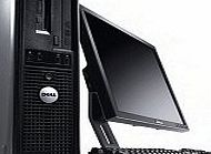 Dell Optiplex GX Desktop Tower PC Computer - Intel Core 2 Duo - 2GB Ram - 160GB Hard Drive with Any 17``TFT Moniter - Keyboard -Mouse - Powercord - Wireless USB Internet Ready RapSols