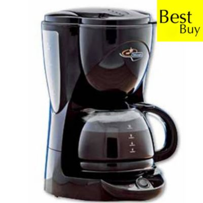 DeLonghi Black filter coffee maker - review, compare prices, buy online
