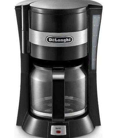 Non Glass Coffee Maker : DeLonghi Filter Coffee Machine Black (Delonghi filter coffee maker) - review, compare prices ...