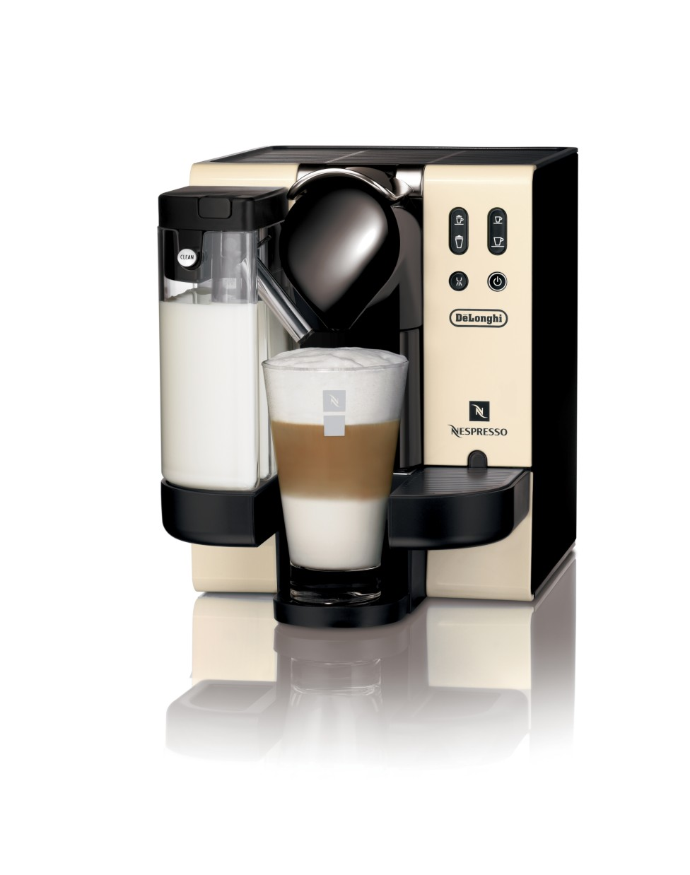 Delonghi Coffee Maker Sainsburys : Delonghi EN660 Nespresso cream Coffee Maker - review, compare prices, buy online