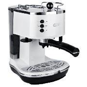 delonghi icona pump espresso machine white coffee maker review compare pri. Black Bedroom Furniture Sets. Home Design Ideas