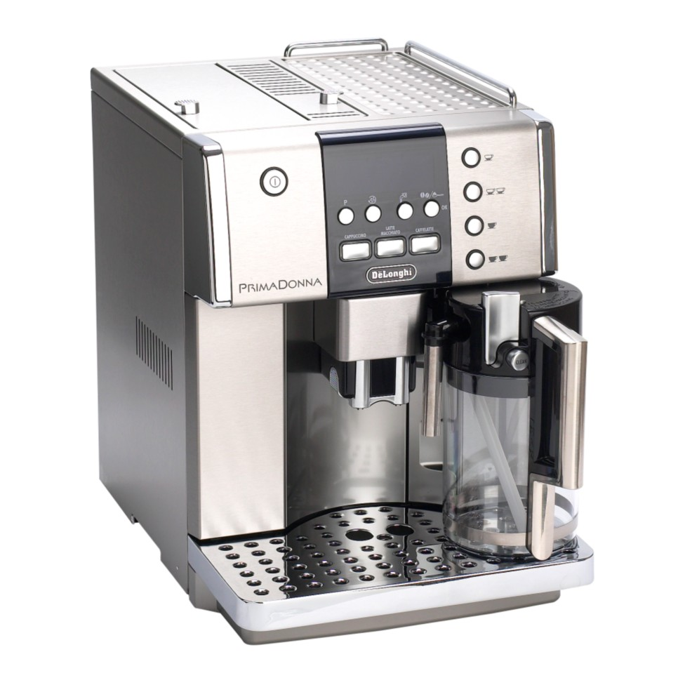 delonghi prima donna coffee maker review compare prices. Black Bedroom Furniture Sets. Home Design Ideas