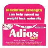 Dendron Ltd Adios Maximum Strength Tablets 100s product image
