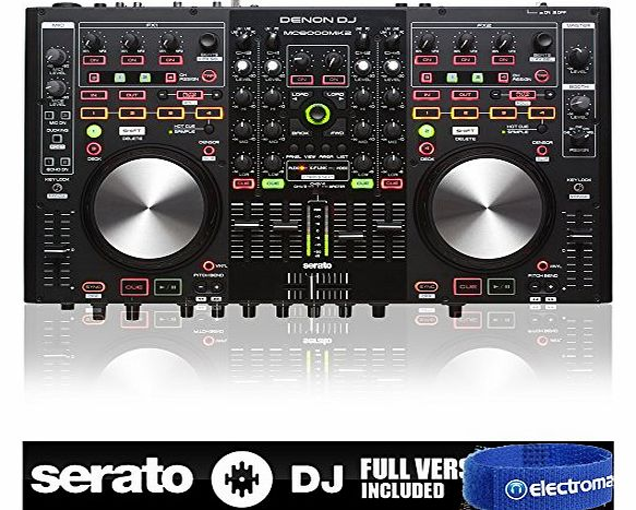 Denon New Denon DN-MC6000 MK2 Digital 4-Channel Mixer Twin DJ Midi Controller product image