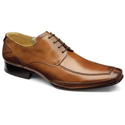 Design Loake Male Hurst Leather Upper Leather/Textile Lining Leather/Textile Lining in Black, Tan