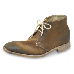 Design Loake Mens Trapper Leather Upper Leather/Textile Lining Leather/Textile Lining in Brown