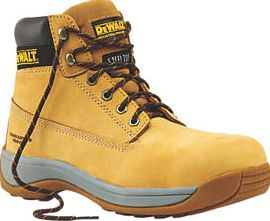Dewalt, 1228[^]73051 Apprentice Safety Boots Wheat Size 4 73051