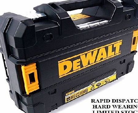 DEWALT CARRYING CASE BLACK T-Stak CASE TOOLBOX FITS MOST 18V CORDLESS XR DRILLS DCD795 DCF886 DCF836 DC