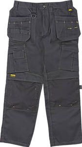 Dewalt, 1228[^]98479 Pro Tradesman Work Trousers Black 34`` W