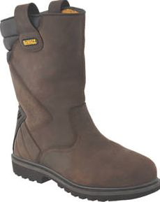 Dewalt, 1228[^]63406 Rigger Safety Boots Brown Size 10 63406