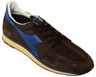 Ed Moses Brown/Royal Blue Trainers