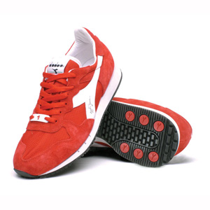 Senna heritage trainers - Red