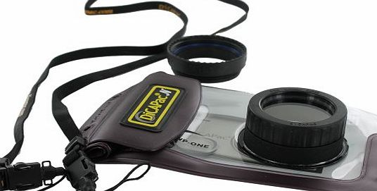 DiCAPac  N Waterproof Case WP1 for Compact Point amp; Shoot and Zoom Lens Digital Cameras