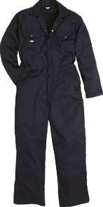 Dickies, 1228[^]39554 Economy Stud Front Coverall Navy X Large