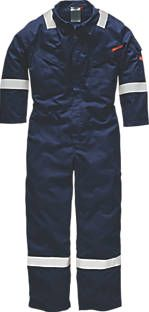 Dickies, 1228[^]4963H FR5402 Flame Retardant Coverall Navy