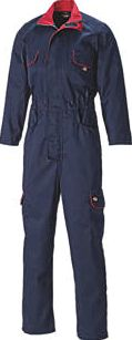 Dickies, 1228[^]4249H Redhawk Front Zip Coverall Navy Large