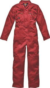 Dickies, 1228[^]18128 Redhawk Zip Front Coverall Red X Large