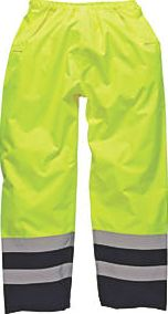 Dickies, 1228[^]2716H SA1003 Hi-Vis 2-Tone Safety Trousers