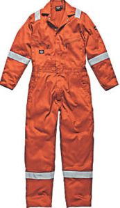 Dickies, 1228[^]2723F WD2279 Zip Front Coverall Orange X Large