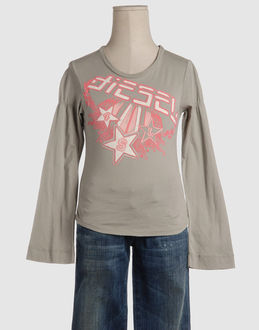 t shirts diesel topwear long sleeve t shirts boys on yoox - cheap offers, ...