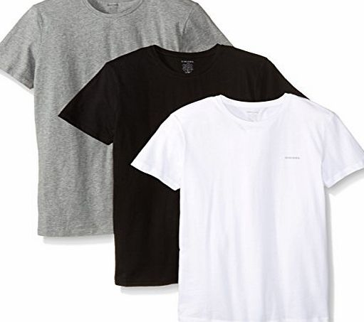 Diesel UMTEE-JAKE 3er Pack T-Shirts black-white-grey - L