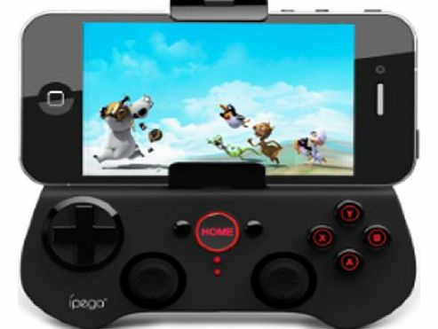 iPega Universal Wireless Bluetooth 3.0 Game Controller Gamepad Joypad for Apple iOS iphone 5 4 4S ipad 4 3 2 new mini ipod Android Phone HTC one x Samsung Galaxy S3 2 Note 2 N7100 N8000 Tablet Google